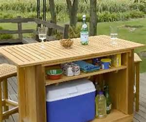 Patio Bar Plans by Gallery For Gt Outdoor Wood Bar Plans