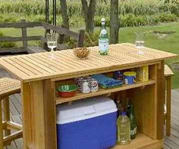 gallery for gt outdoor wood bar plans