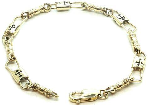 acts bracelet fishers of 14k gold regular link budded