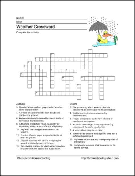 weather patterns worksheet answers 10 worksheets to teach your child basic weather terms