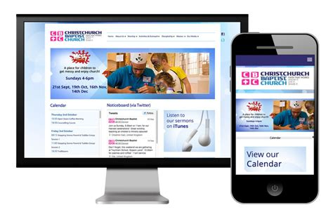 web layout for mobile and desktop church edit church websites tips for having mobile