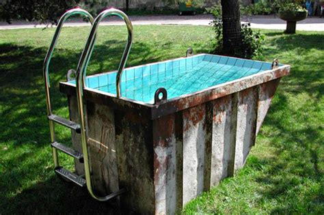 Sofa Swing Indoor by 6 Amazing Repurposed Swimming Pools To Dip Into This