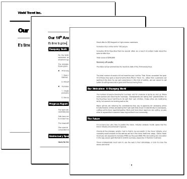 Word Report Template Beneficialholdings Info Word Styles Templates