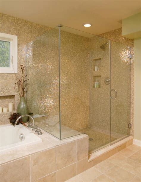 Stand Up Glass Showers by Location Of Shower And Tub Stand Up Glass Shower