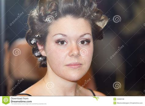 Gets Hair Done by Getting Hair Done Royalty Free Stock Photos