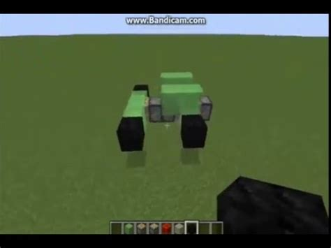minecraft car that moves how to make a moving car in minecraft pls subscribe guys