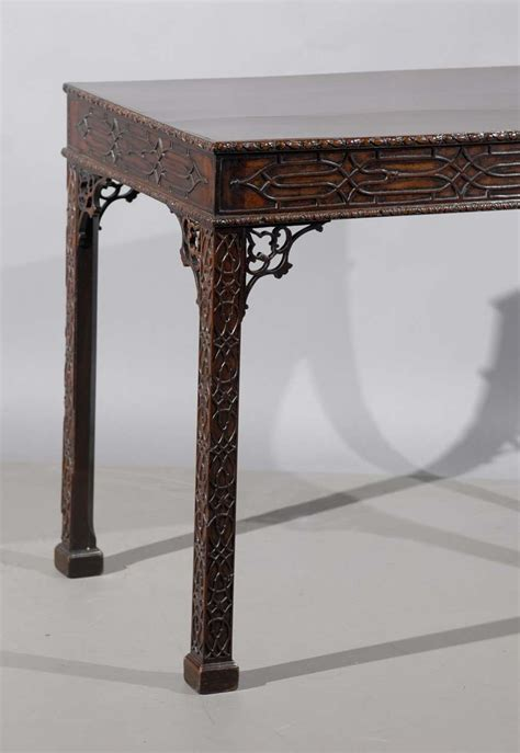 english chinese chippendale style chair at 1stdibs 19th century english chinese chippendale style tea table