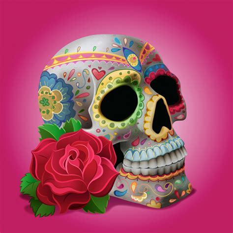 How To Decorate For Dia De Los Muertos by Create Quot Dia De Los Muertos Quot Decorations On A Skull In