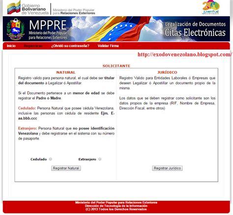 como realizar el tramite de apostilla de un acta de 201 xodo venezolano apostillar documentos para el extranjero