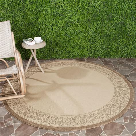 safavieh cy2099 3001 courtyard indoor outdoor area rug beige lowe s canada safavieh courtyard brown 6 ft 7 in x 6 ft 7 in indoor outdoor area rug cy2099