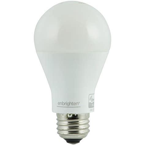 z wave light bulb enbrighten z wave smart led dimmable light bulb