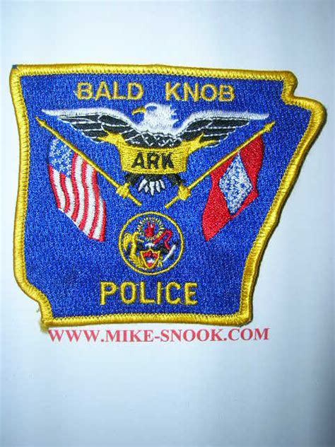 Bald Knob Department Arkansas by Mike Snook S Patch Collection State Of Arkansas