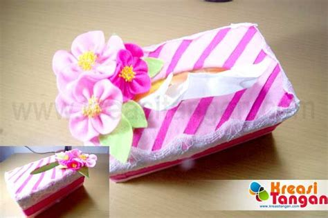tutorial membuat pita dari kertas tutorial cara membuat tempat tisu dari kain flanel