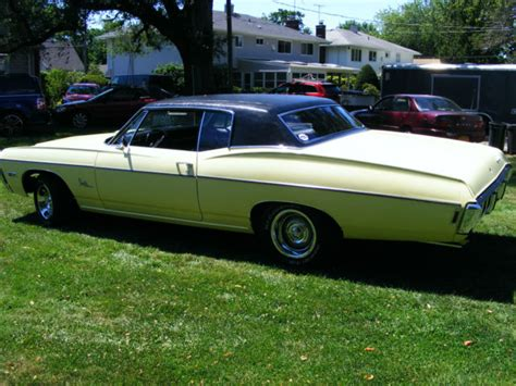 1968 impala custom coupe classic chevrolet impala 1968