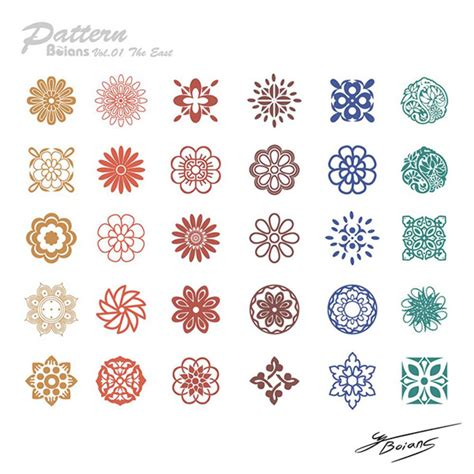 traditional chinese designs chinese style traditional design patterns vector misc free