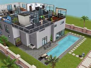 Home Design Facebook by Modern Beach House The Sims Freeplay House Designs
