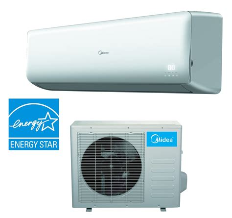 Ac Midea midea 12000 btu 21 5 seer premier mini split hyper heat ac inverter air conditioner op
