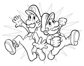 mario brothers coloring pages coloring pages mega mario bros coloring pages
