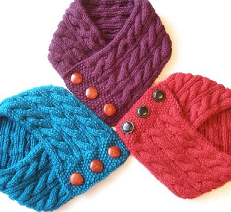 neck warmer knitting pattern cabled neck warmer knitting pattern pdf permission granted