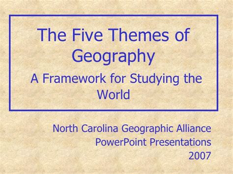 5 themes of geography mexico five themes of geography nc exles