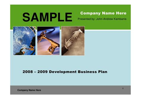 real estate development business plan template real estate development business plan