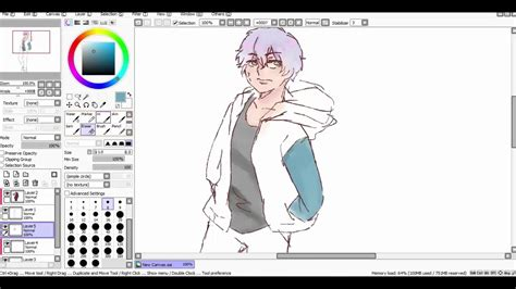 paint tool sai cr speedpaint mouse original character