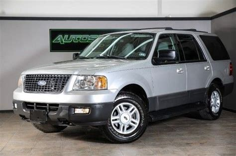 Expedition 6655 Silver Grey Leather buy used 2004 ford expedition xlt leather 4x4 clean we finance in united