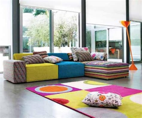 Sofa Sederhana 20 inspiring ideas colorful living room decoration with upholstered couches