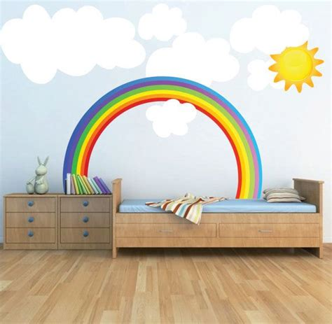 rainbow stickers for walls 25 best ideas about rainbow wall on rainbow