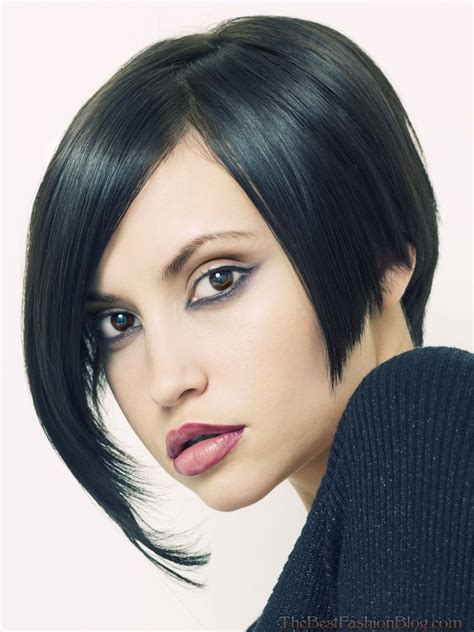 a symetrical haircuts top 10 asymmetrical bob haircuts 2018