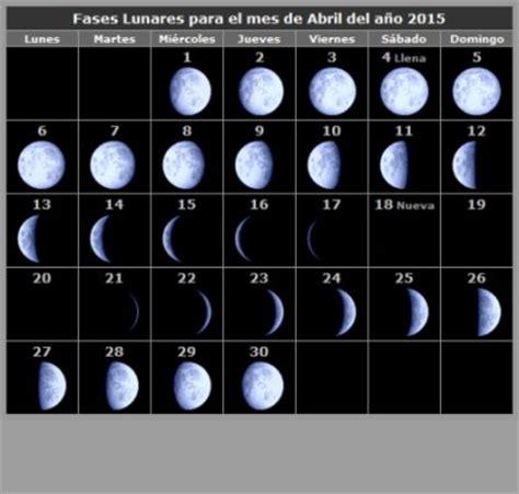 Calendario Lunar Abril 2015 Fases Da Lua Abril 2015 Abril De 2015 Babycenter