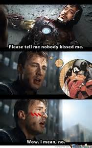 Funny Marvel Memes - on earth 3490 of the marvel multi verse tony stark was