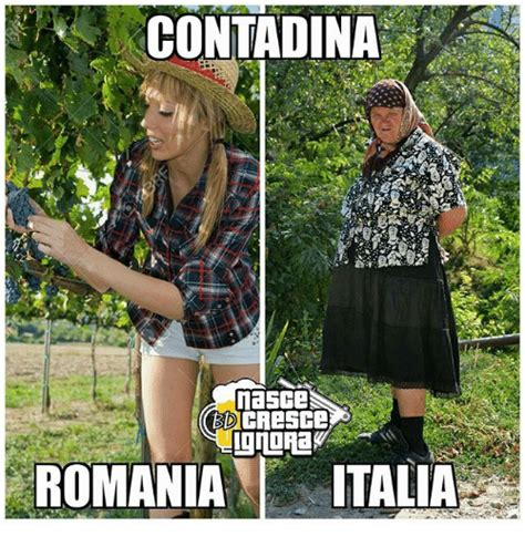 Meme Ro - contadina romania italia meme on sizzle