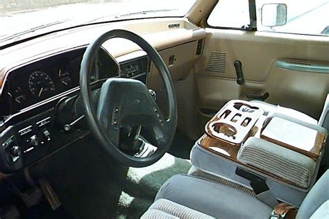 1988 Ford F150 Interior by 1988 Ford F150 V8