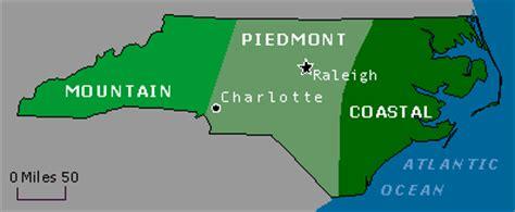map of carolina mountain region wildernet carolina travel regions