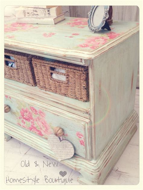 Decoupage Wood Furniture - the 25 best decoupage dresser ideas on
