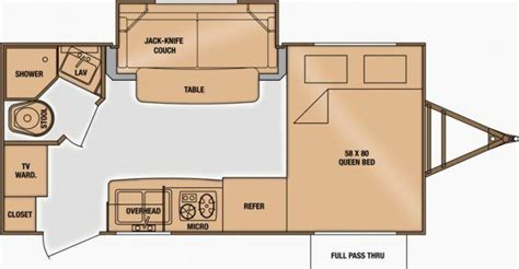 shadow cruiser floor plans 2014 cruiser rv shadow cruiser 185fbs travel trailer roy