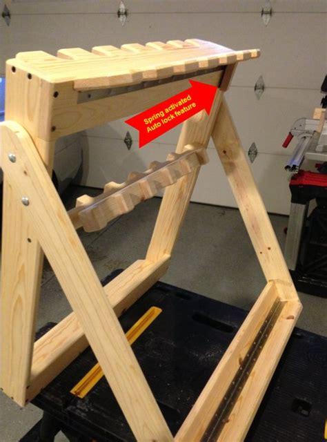 Portable Gun Rack by Portable Gun Rack By Nugimon Lumberjocks