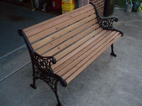 Garden Bench Wood Replacement Kit