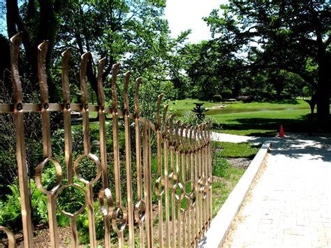 garden banister lynden sculpture garden bronze railing 171 bighorn forge s