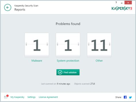 security scan kaspersky security scan