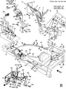 Chevy P30 Brake System Diagram Parking Brake System