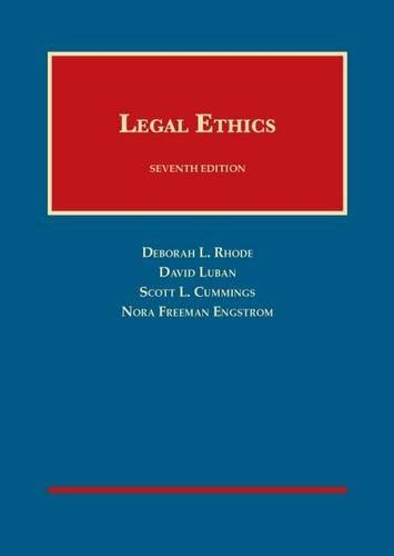 problems in ethics casebookplus american casebook series books 10 ethics casebook series