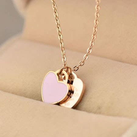 Minimalist Necklace Butterflies Titanium Steel Silver Plated 18k 18k gold split necklace for and