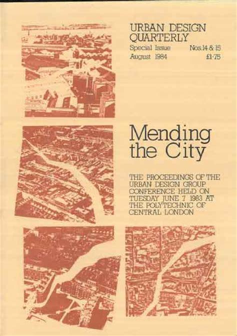 urban design journal pdf urban design 14 15 august 1984 urban design