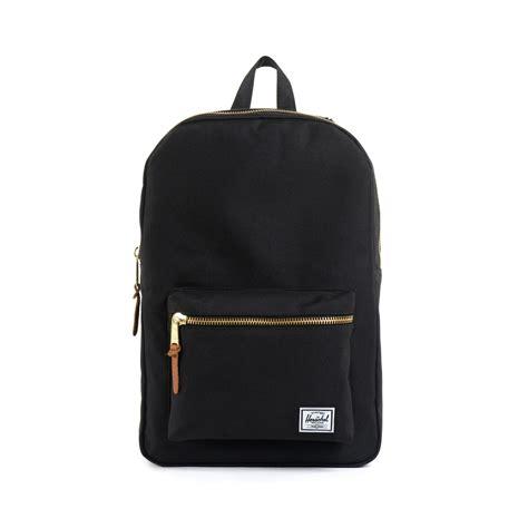 black backpack new herschel backpack settlement black accessories
