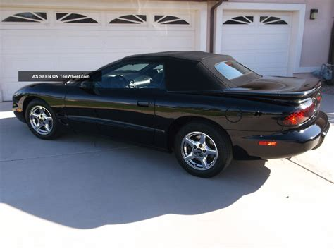 what was the last year for pontiac black firebird convertible 2002 pontiac last year made