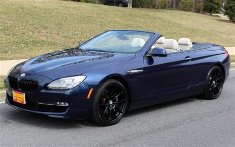 Bmw 650i Convertible For Sale by 2012 Bmw 6 Series 2012 Bmw 650i Convertible V8