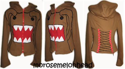 Hoodie Domo Kun jackets images domo kun coset jacket hd wallpaper and