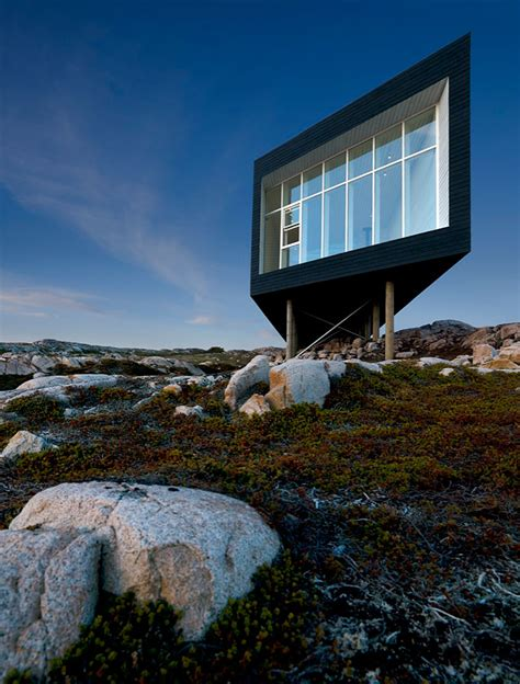 fogo island studio by saunders architecture homedsgn